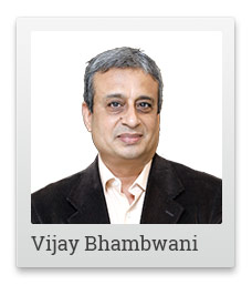 Vijay Bhambwani, Editor of Weekly Cash Flow