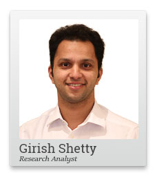 Girish Shetty, Research analyst